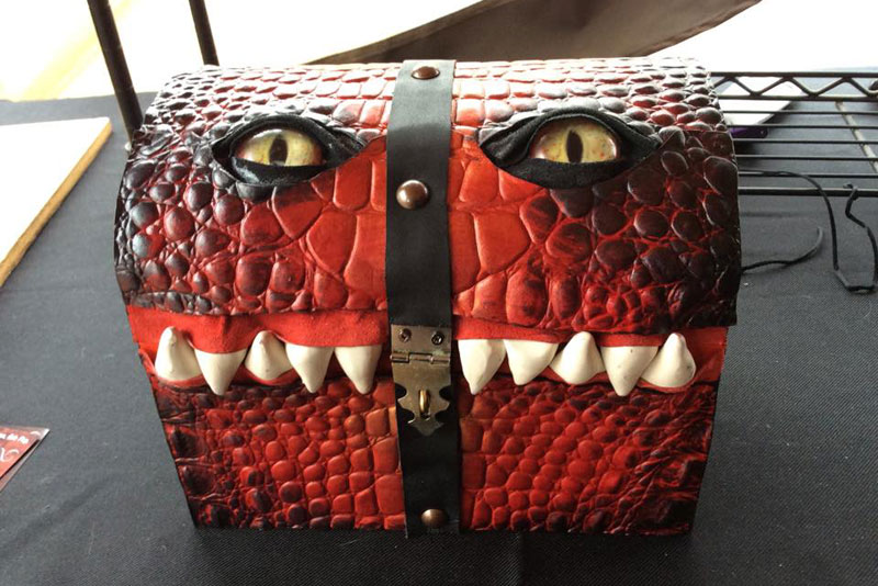 leather monster bags and boxes by mellie z fine line leather design (7)