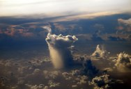 Picture of the Day: A Lonely Rain Cloud Somewhere in the Pacific