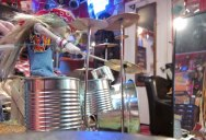Drumming Marionette Tears Through Tom Sawyer by Rush