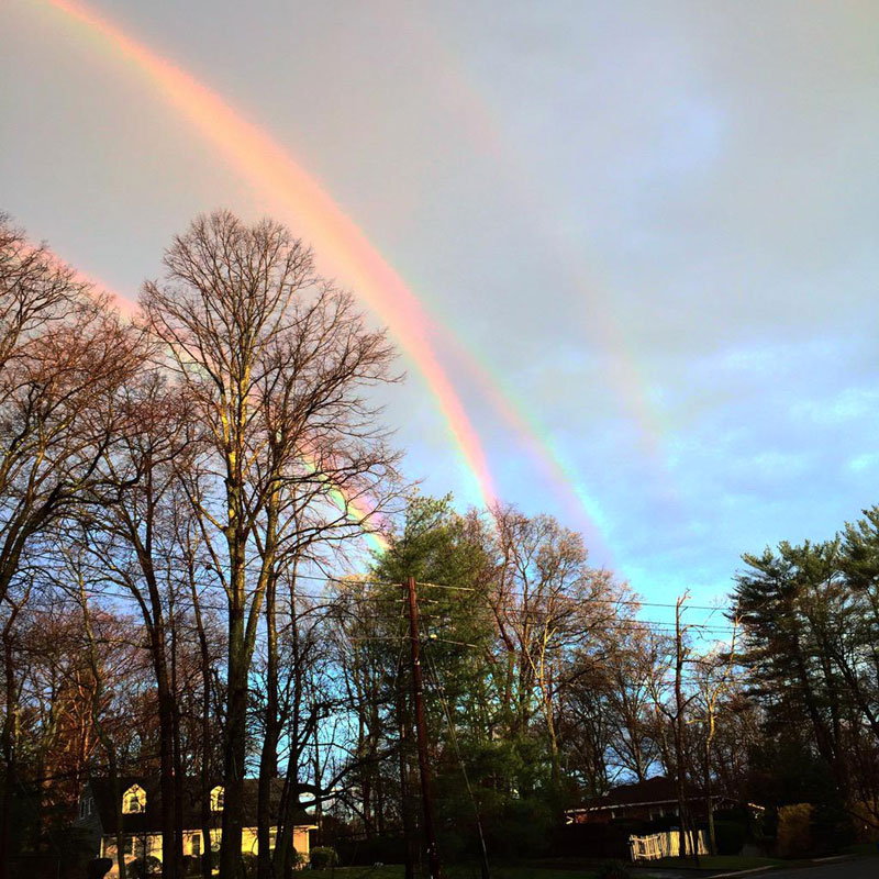 Picture of the Day: Rare Quadruple Rainbow Spotted
