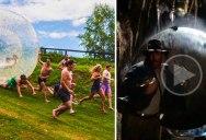 Indiana Jones Real Life Boulder Scene