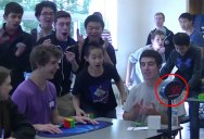 Teenager Solves Rubik's Cube in World Record Breaking 5.25 Seconds