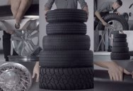 An Entire Song Made from Random Tire Sounds