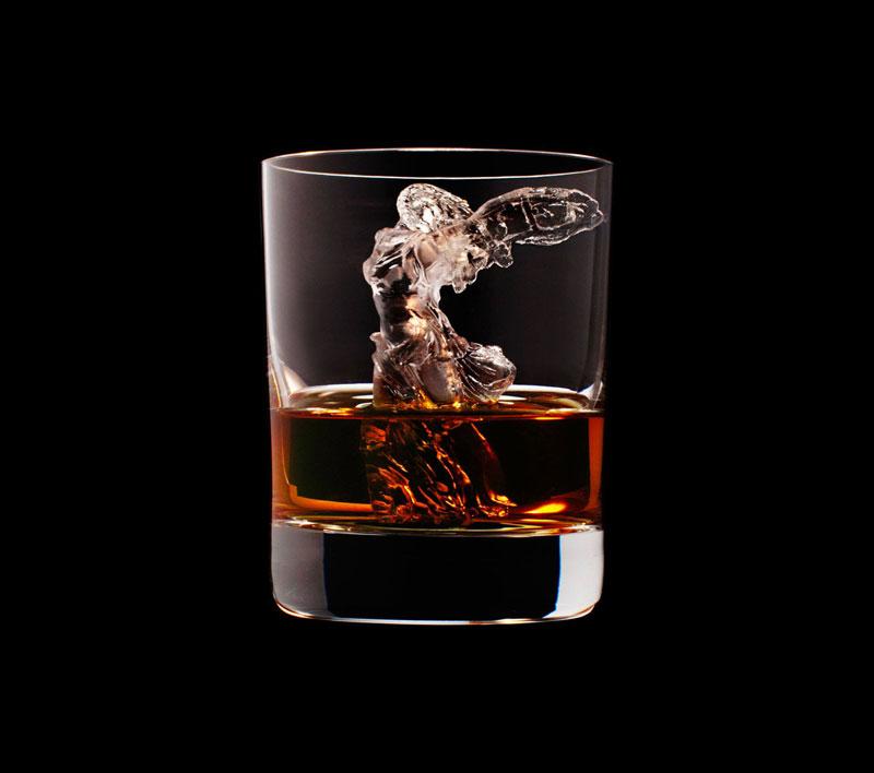 suntory whisky tbwa hakuhodo cnc milled ice cubes 3d (19)