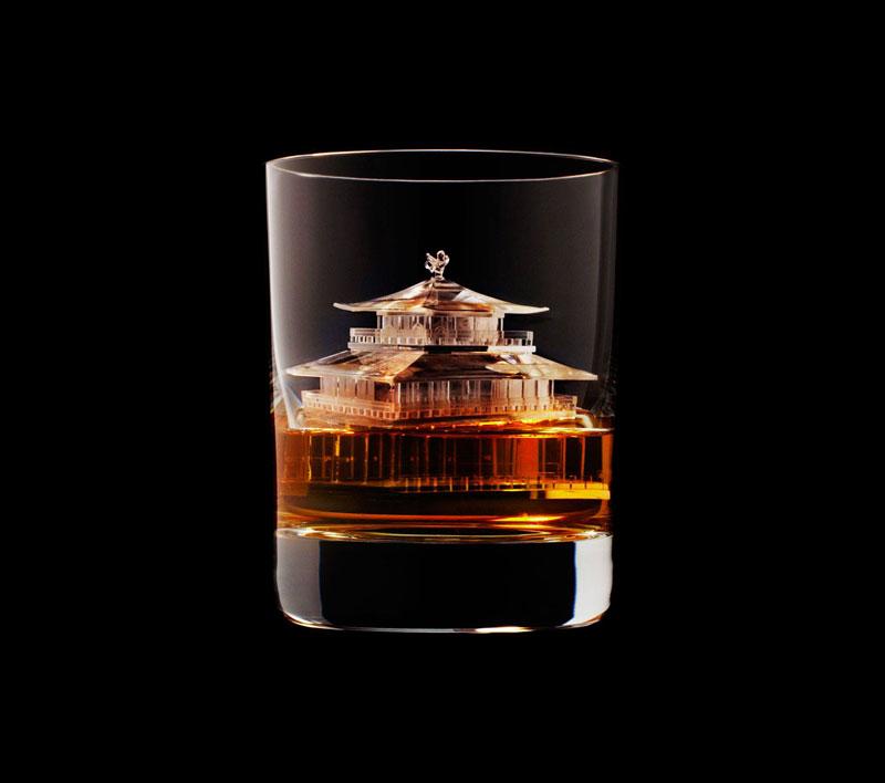 suntory whisky tbwa hakuhodo cnc milled ice cubes 3d (22)