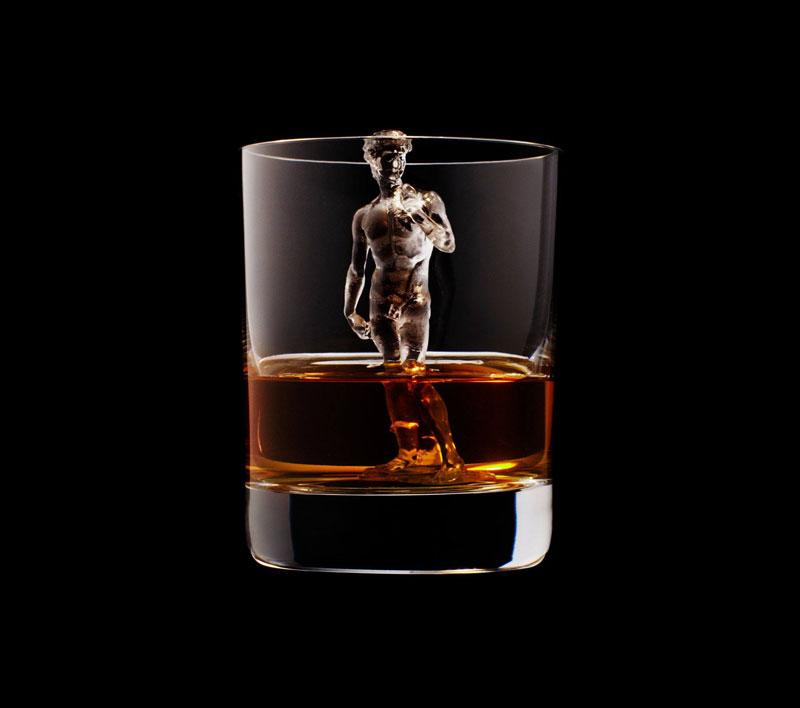 suntory whisky tbwa hakuhodo cnc milled ice cubes 3d (7)