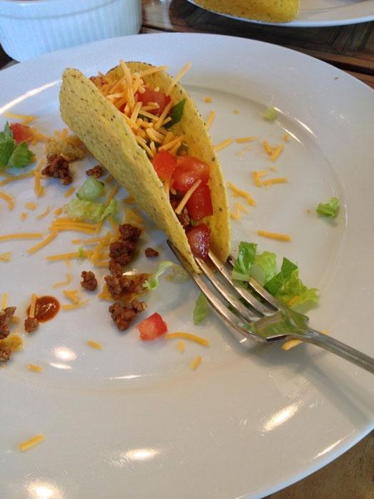 taco fork life hack