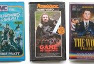 If Modern Favorites Were on VHS