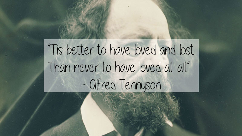 alfred lord tennyson quote 23 Thought Provoking Quotes by Historys Favorite Writers