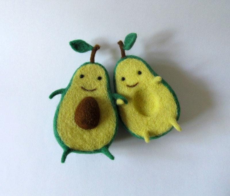 avocado plush toy hugging by hanna dovhan (2)