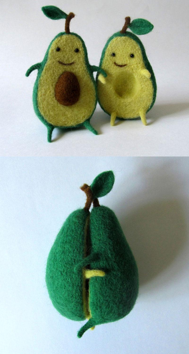 avocado plush toy hugging by hanna dovhan (4)