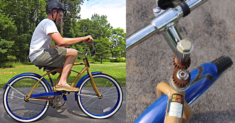 You Can't Ride This Backwards Bicycle