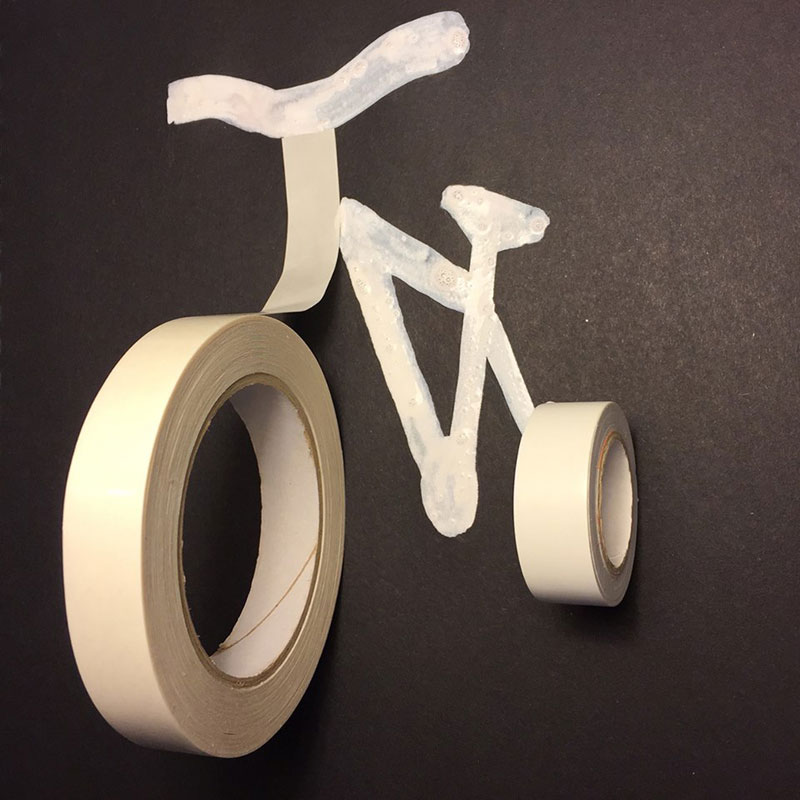 bike-made-with-two-rolls-of-tape-and-paint-christoph niemann