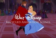 Recycled Animation Sequences from Famous Disney Films