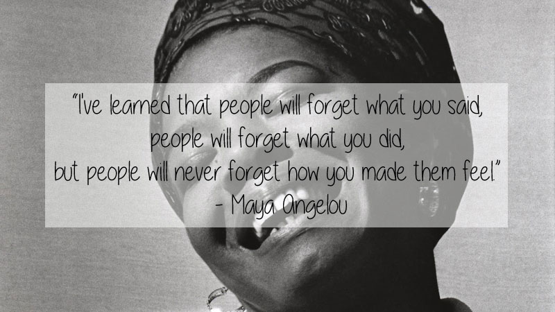 maya angelou quote 23 Thought Provoking Quotes by Historys Favorite Writers