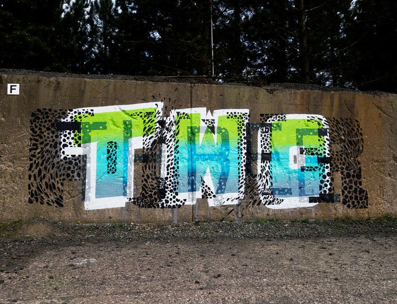 Multi-Layered Graffiti Murals of Popular Expressions by Pref (4)