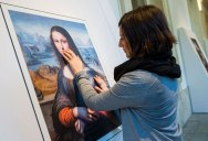 Museum Exhibit for the Blind Encourages People to Touch the Artworks