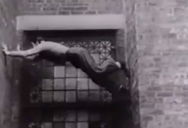 Old School Parkour from the 1930s