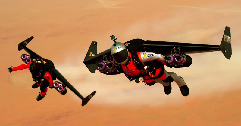 Pushing the Boundaries of Human Flight in the Skies of Dubai