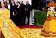 A Woman Just Uncovered Rihanna's Fashion Muse… It's Characters from the Mario Universe
