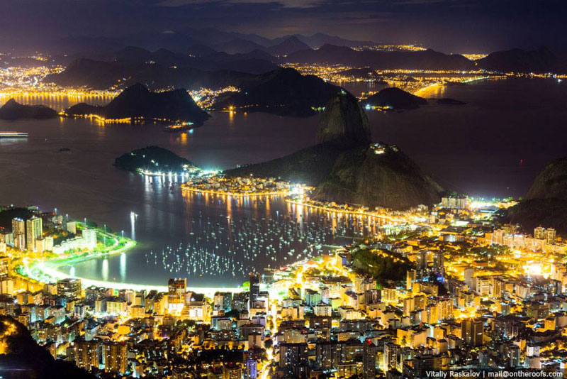 Picture of the Day: Rio at Night