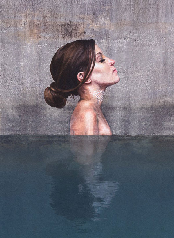 street Artist hula Uses Paddleboard to Paint in Hard to Reach Places (2)