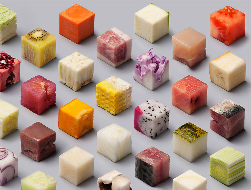 Unprocessed Foods Cut Into Perfect Cubes by Lernert and Sander (3)