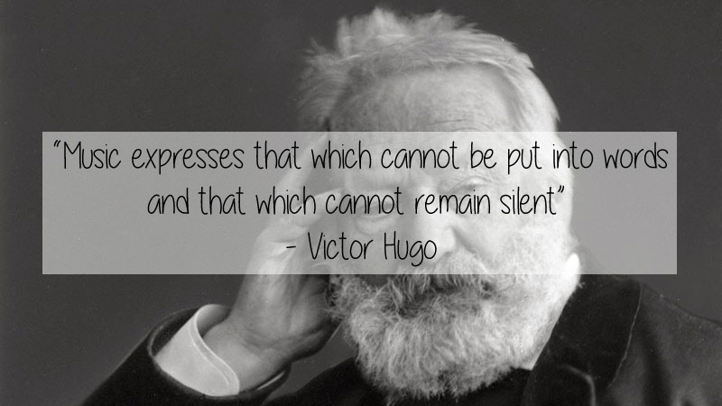 victor hugo quote 23 Thought Provoking Quotes by Historys Favorite Writers