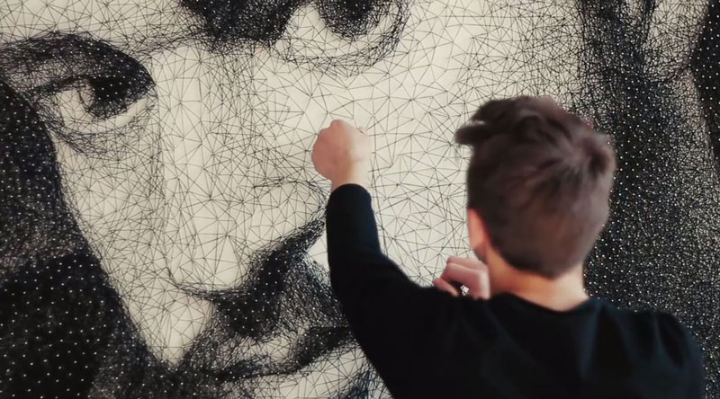 zenyk palagniuk artist justin timberlake portrait thread and nails (3)