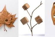 Susanna Bauer Crochets Fallen Leaves Into Amazing 3D Artworks
