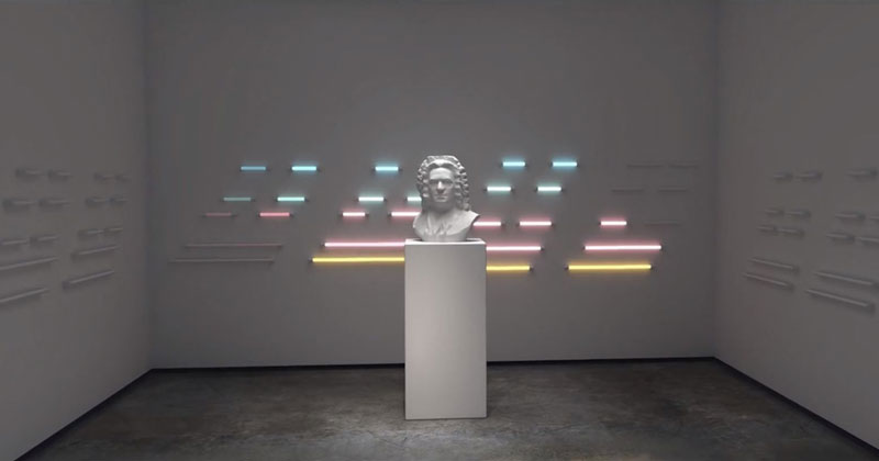 Amazing CGI Light Visuals Set to Johann Sebastian Bach