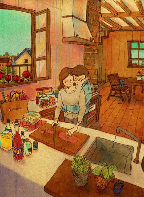 Artist Puuung illustrates What Real Love Looks Like (11)
