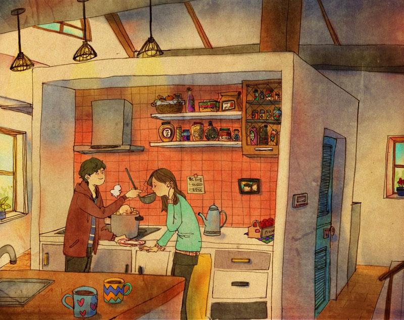 Artist Puuung illustrates What Real Love Looks Like (12)