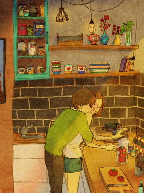 Artist Puuung illustrates What Real Love Looks Like (17)