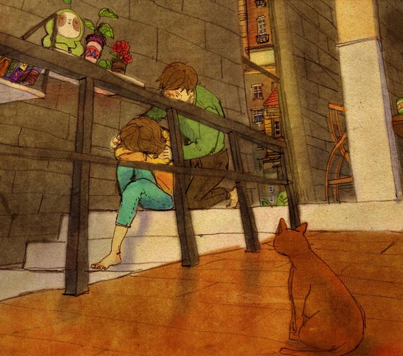 Artist Puuung illustrates What Real Love Looks Like (19)