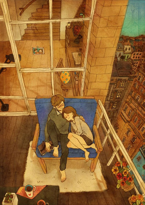 Artist Puuung illustrates What Real Love Looks Like (6)