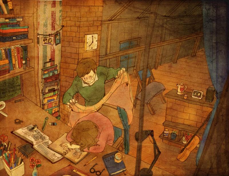 Artist Puuung illustrates What Real Love Looks Like (7)