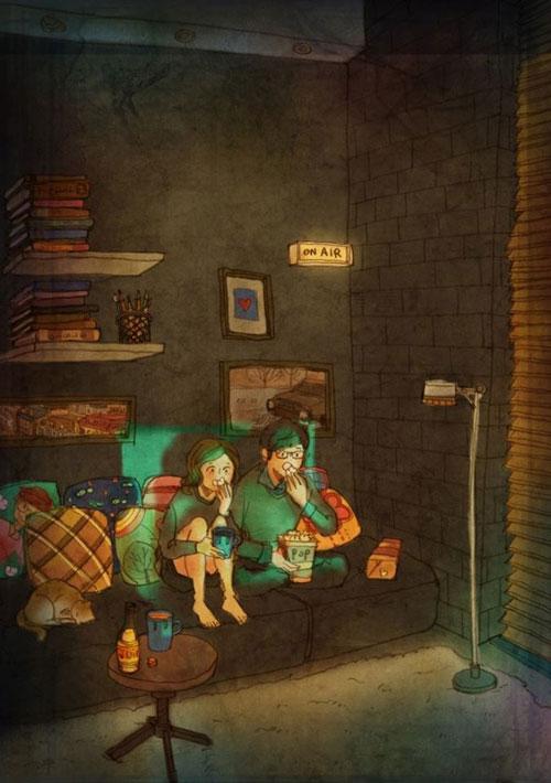 Artist Puuung illustrates What Real Love Looks Like (8)