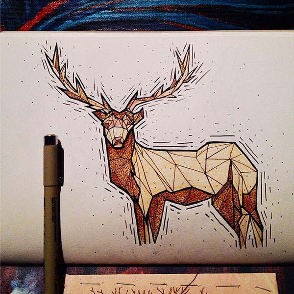 Artists Challenge Each Other to a Daily Animal Alphabet Drawing Duel (1)