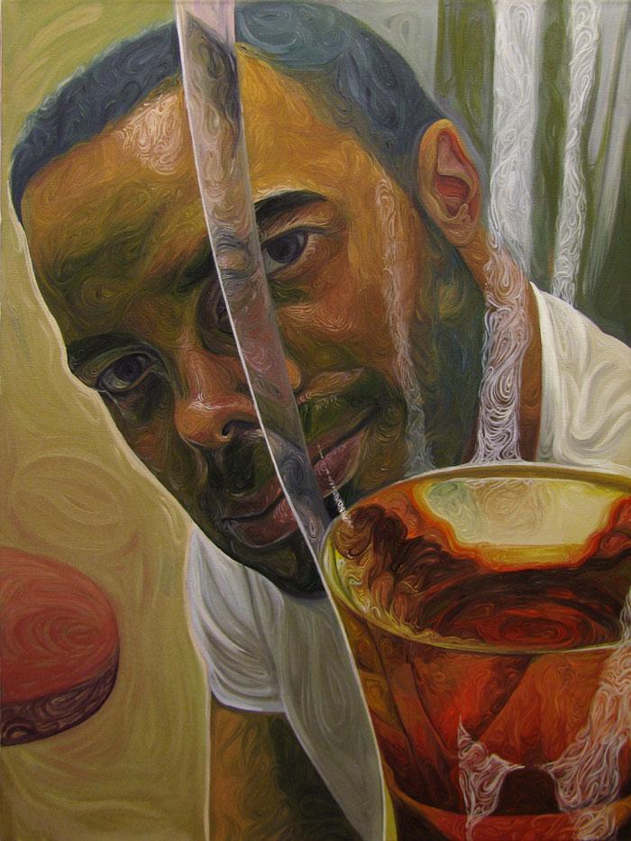 Beer Googles Oil Painting Series by Christopher Mangan (2)