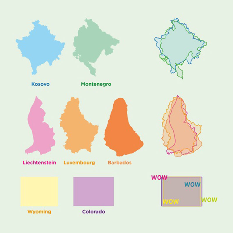 countries that look like other countries 32 Maps That Will Teach You Something New About the World