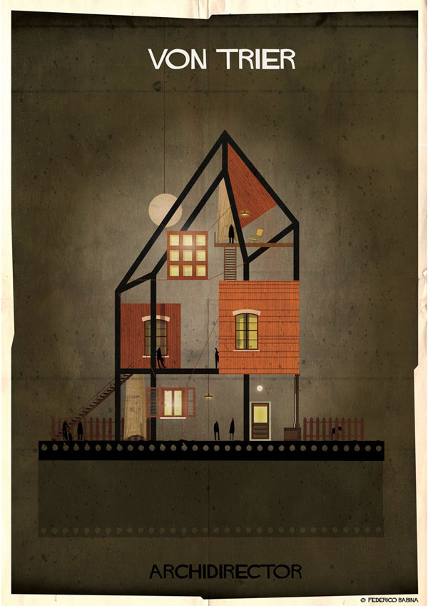 Federico Babina Imagines Architecture in the Film Style of Famous Directors (15)