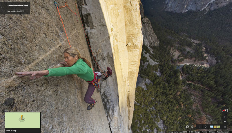 You Can Now Climb Yosemite's Famous El Capitan on Google Maps