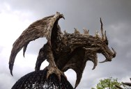 James Doran-Webb Makes Incredible Creatures Out of Driftwood
