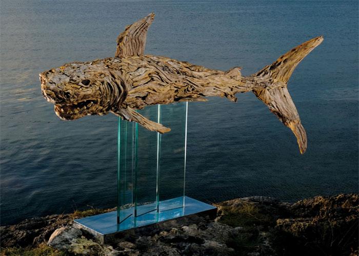 james doran webb driftwood animal sculptures (5)