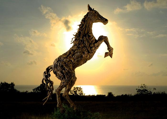james doran webb driftwood animal sculptures (7)