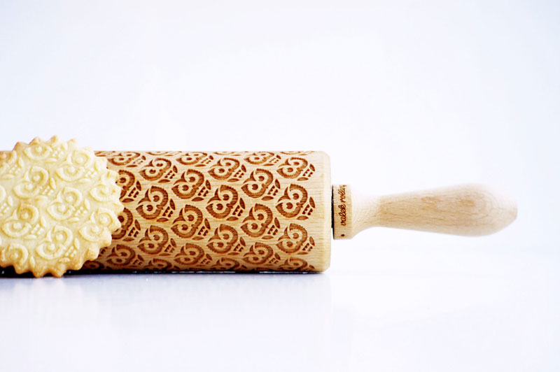 Laser Engraved Rolling Pins Make Delicious Things Look Awesome