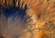 Picture of the Day: Fresh Crater on Mars