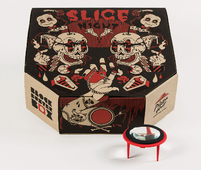 Pizza Box Turns Your Smartphone Into a Movie Projector (3)