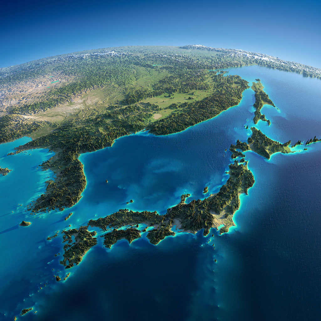 relief maps of earth with exaggerated mountain ranges (2)